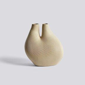Chamber Vase - Light Beige von Hay