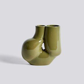 Chubby Vase - Olive Green von Hay