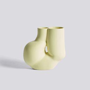 Chubby Vase - Soft Yellow von Hay