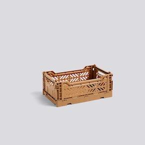 Colour Crate Kiste S - Tan von Hay