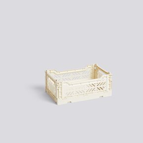 Colour Crate Kiste S - Off-White von Hay