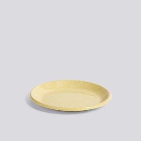 Enamel Speiseteller - Light Yellow von Hay
