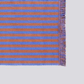 Stripes Läufer - Cacao Sky - 60x200 von Hay