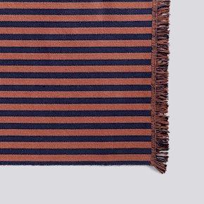 Stripes Läufer - Navy Cacao - 65x300 von Hay