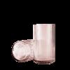 Lyngby Vase Glas H25 - Burgundy von Hay