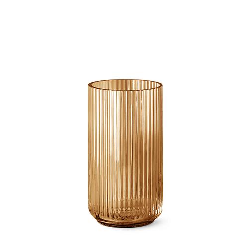 Lyngby Vase H25 – Amber von Lyngby
