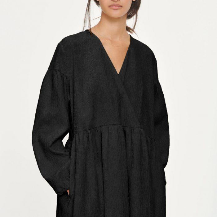 Jolie Kleid Black Flower von Samsoe