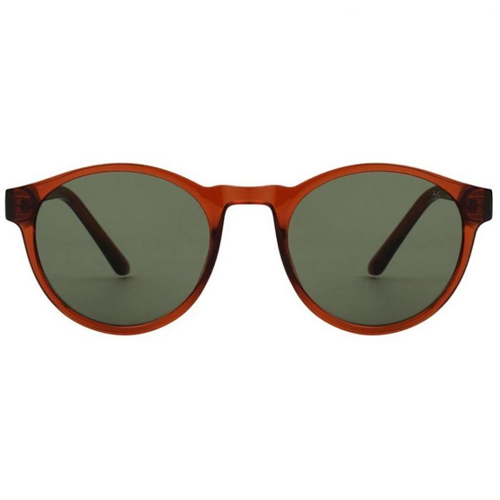 Sonnenbrille Marvin Brown Transparent