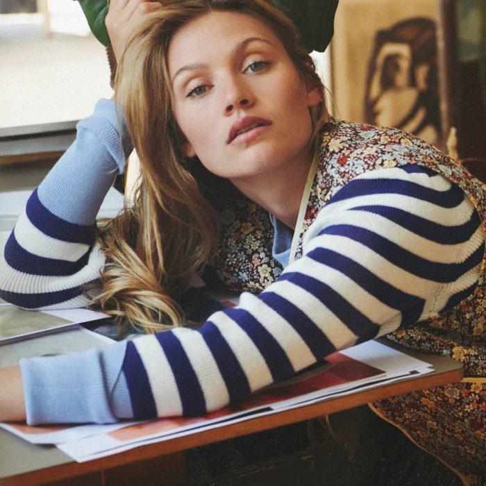 Sarah Pullover - Stripe von Lollys Laundry