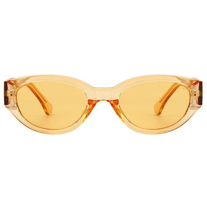 Sonnenbrille Winnie Yellow Transparent