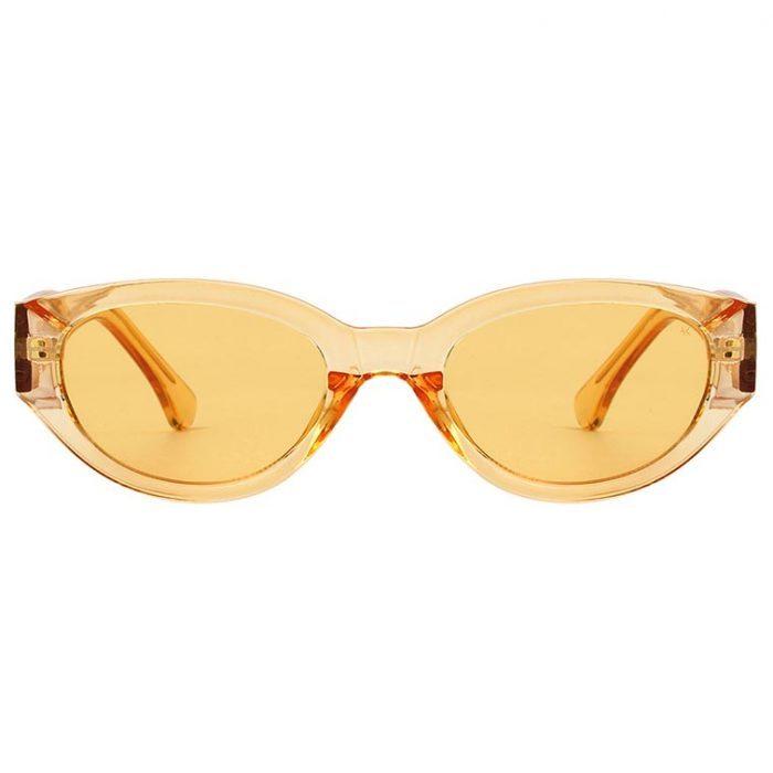 Sonnenbrille Winnie Yellow Transparent
