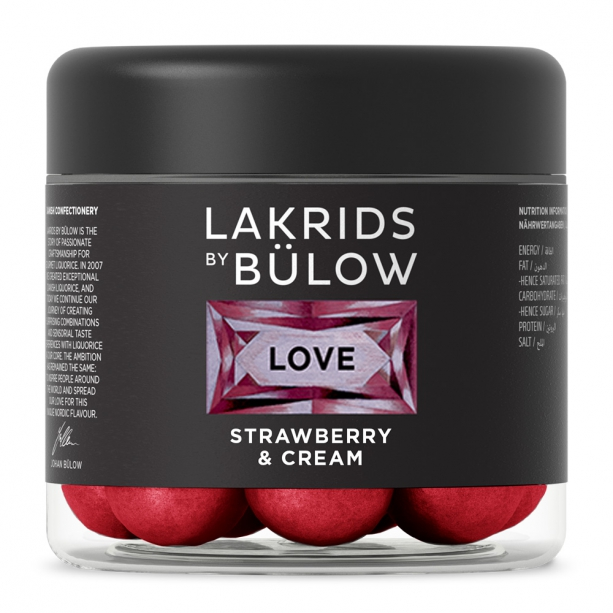 Love - Strawberry & Cream von Lakrids by Bülow