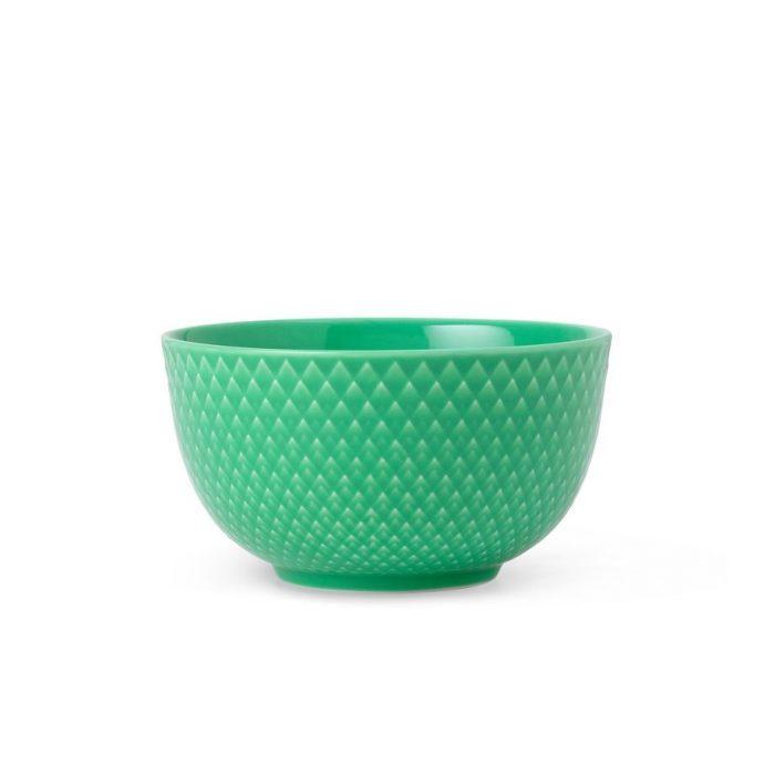 Rhombe Color Schüssel Grün von Lyngby