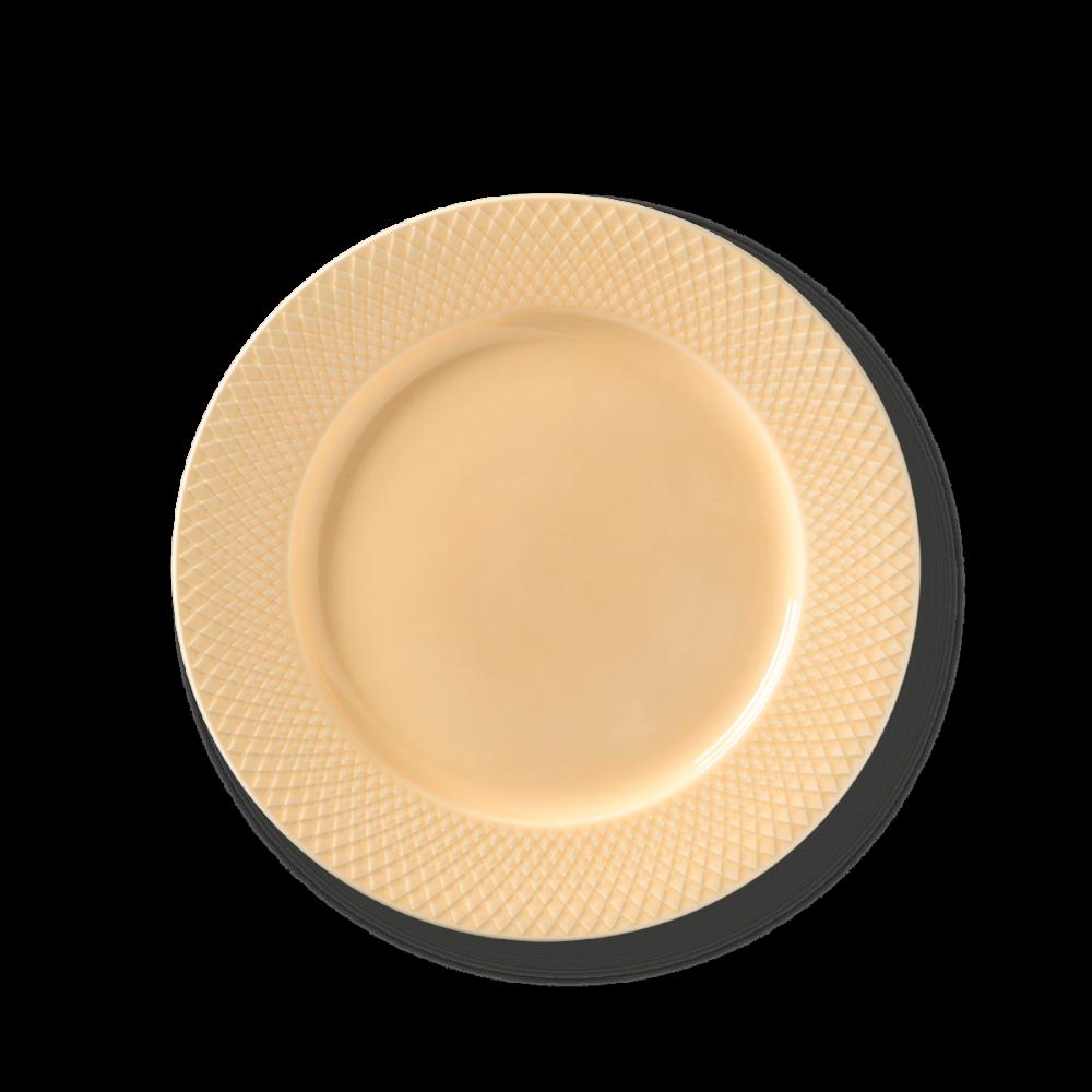 Rhombe Color Speiseteller Beige von Lyngby