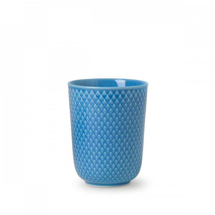 Rhombe Color Becher Blau von Lyngby