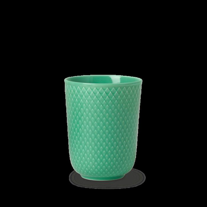 Rhombe Color Becher Grün von Lyngby