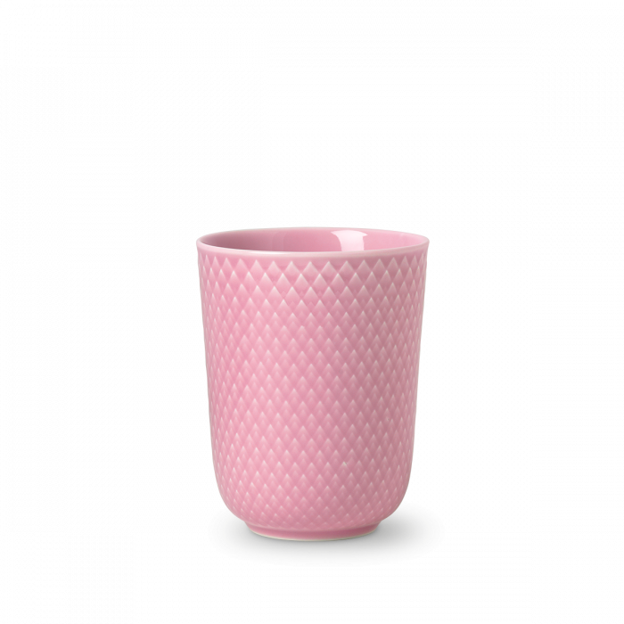 Rhombe Color Becher Rosa von Lyngby