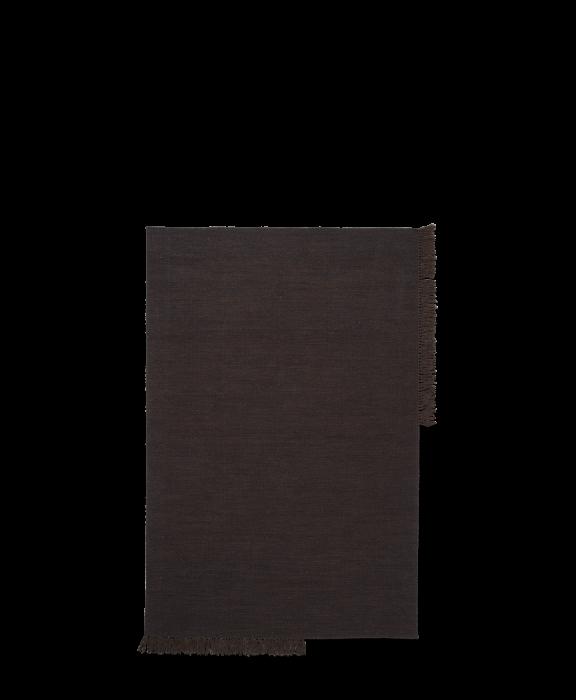Kelim Teppich Dark Melange Medium