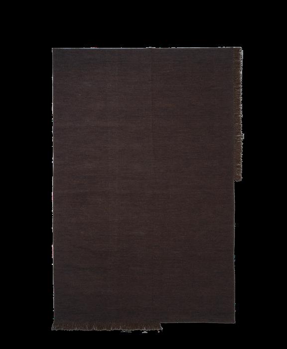 Kelim Teppich Dark Melange Large