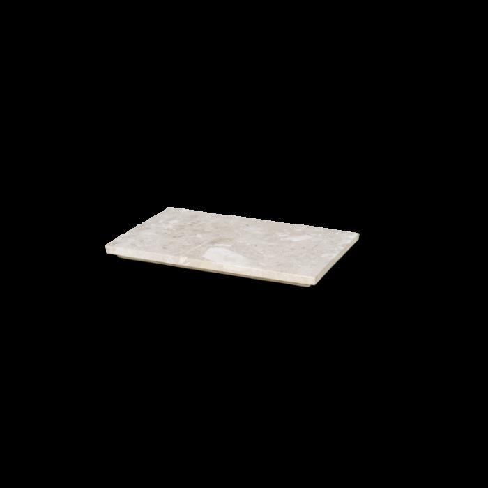 Marmortablett Beige für Plant Box