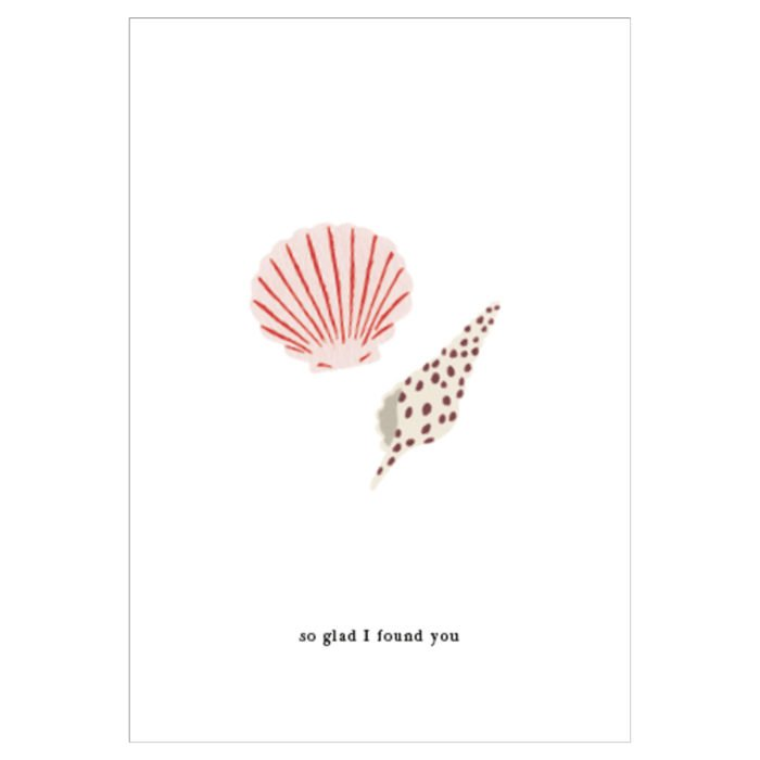 Grußkarte Sea Shells
