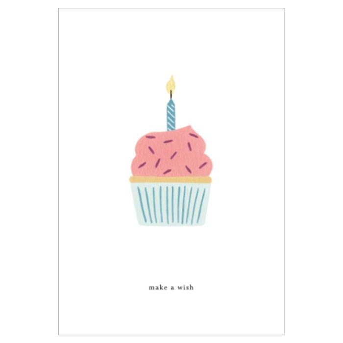 Grußkarte Birthday Cake