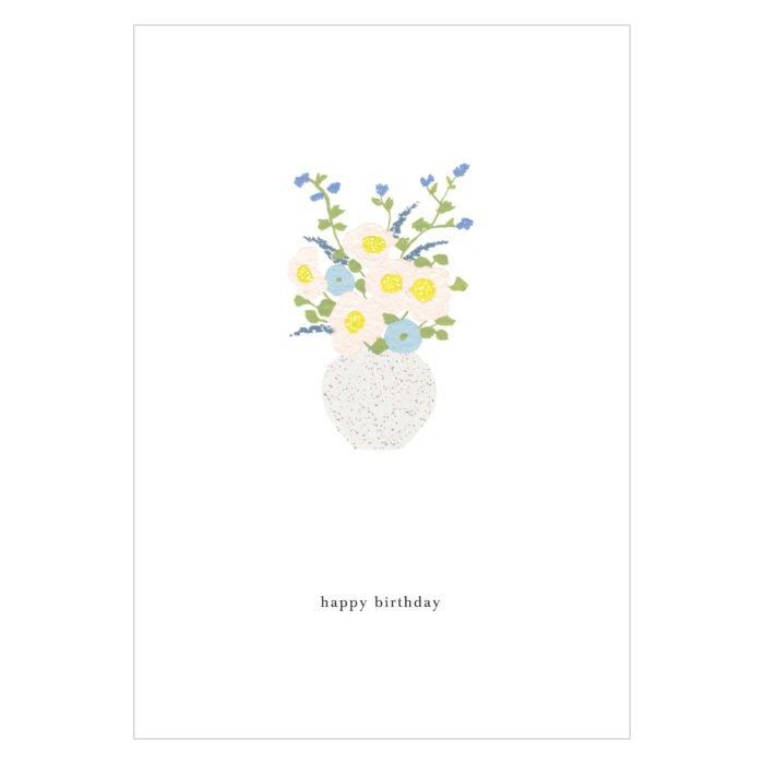 Grußkarte Birthday Flowers