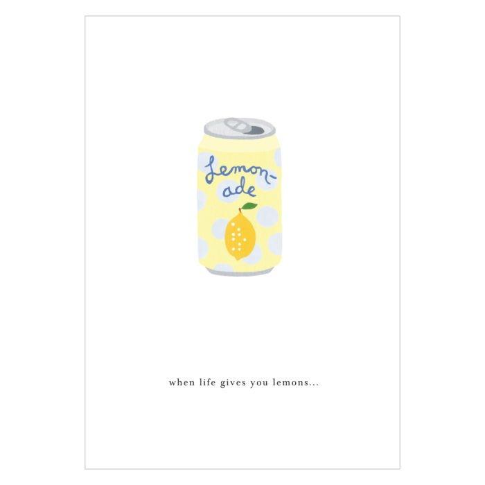 Grußkarte Soda Can