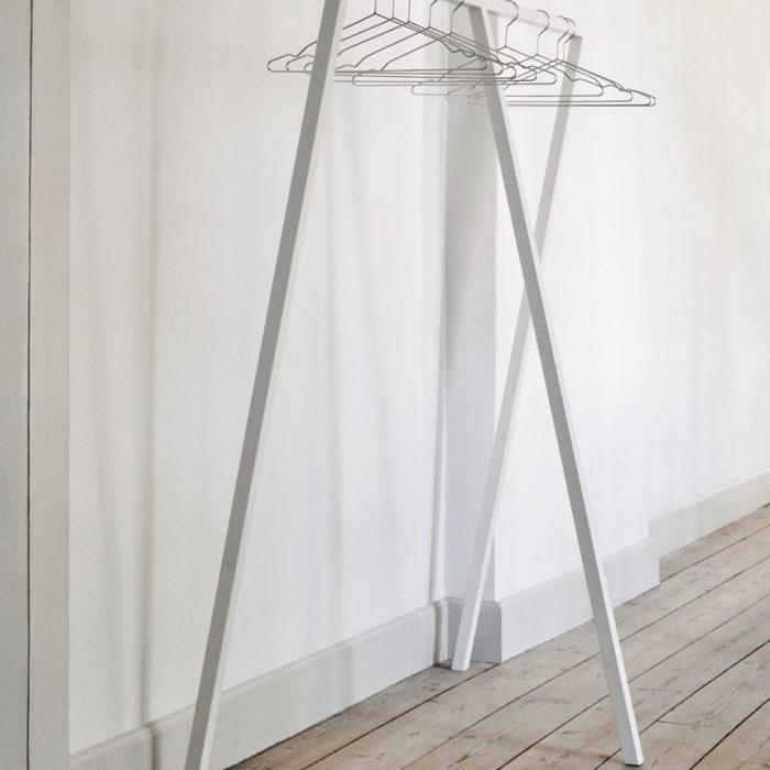 Loop Kleiderständer Large White