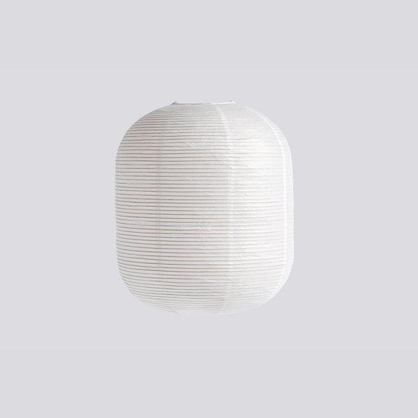 Rice Papierlampenschirm Oblong Classic White