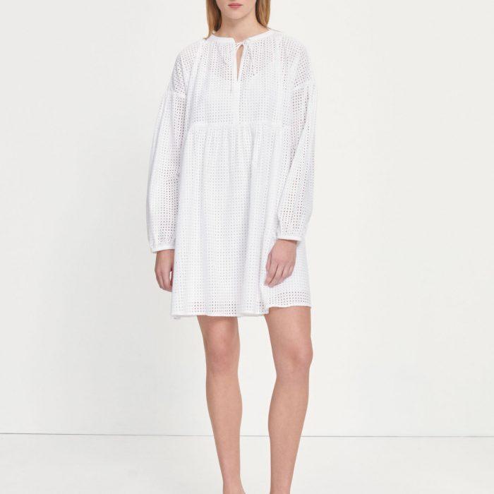 Royasine Kleid Bright White