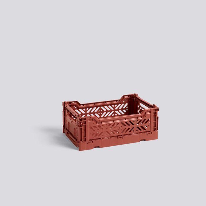 Colour Crate Kiste S Terracotta