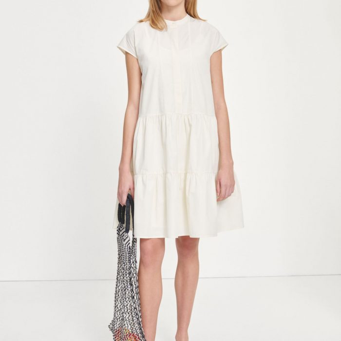 Margo Kleid Antique White