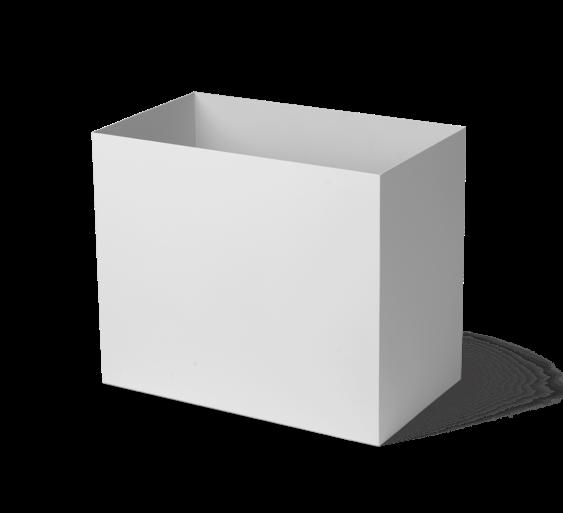 Plant Box Blumentopf light grey Large