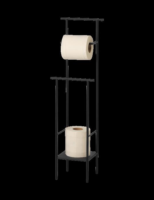 Dora Toilettenpapierständer Black