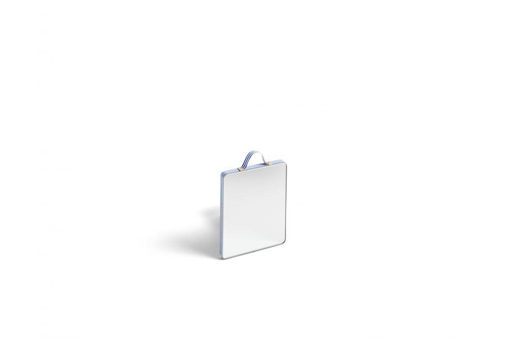 Ruban Rectangular Spiegel Blue