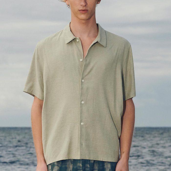 Avan JX Hemd Seagrass