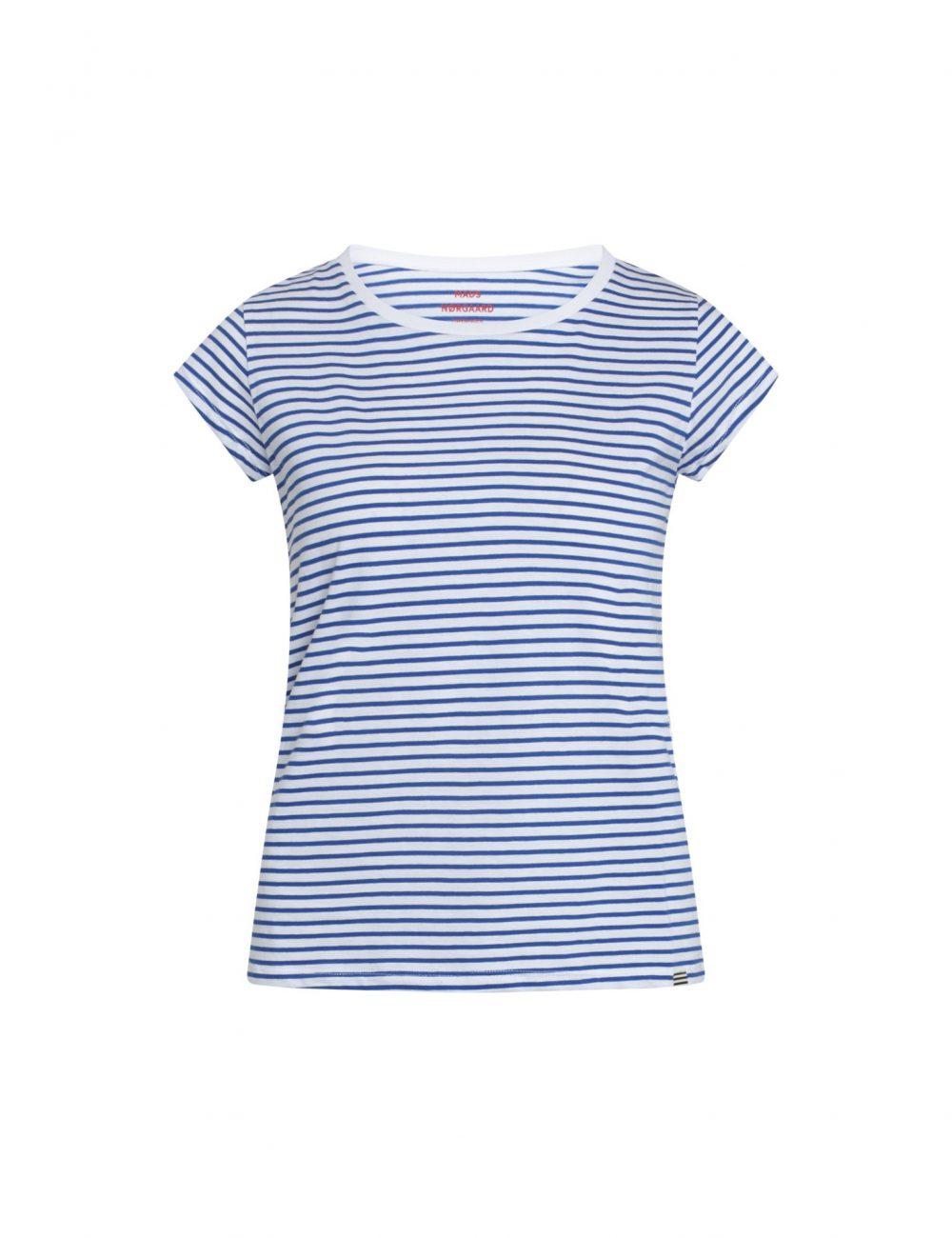 Favorite Stripe Shirt White/Princess