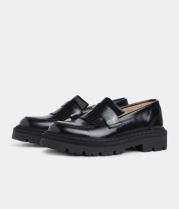 Spike Loafer Black