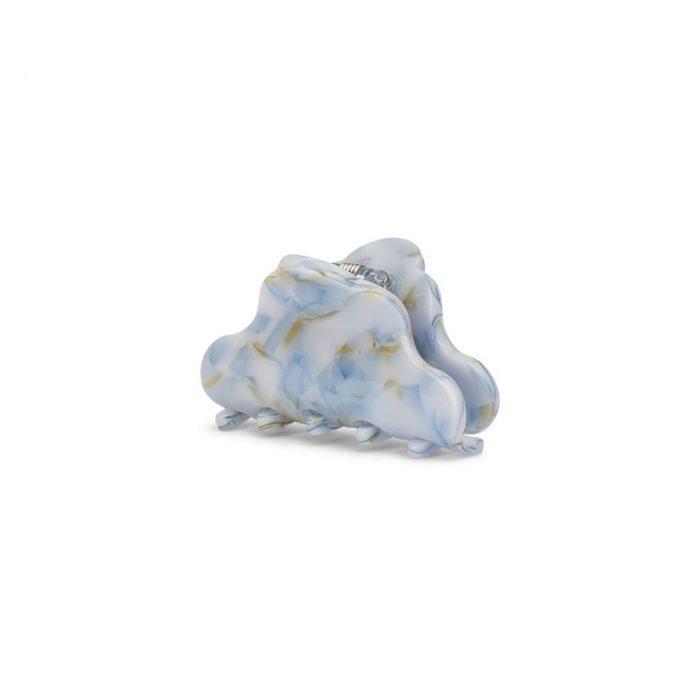 Lene Crushed Haarklammer Light Blue Mini