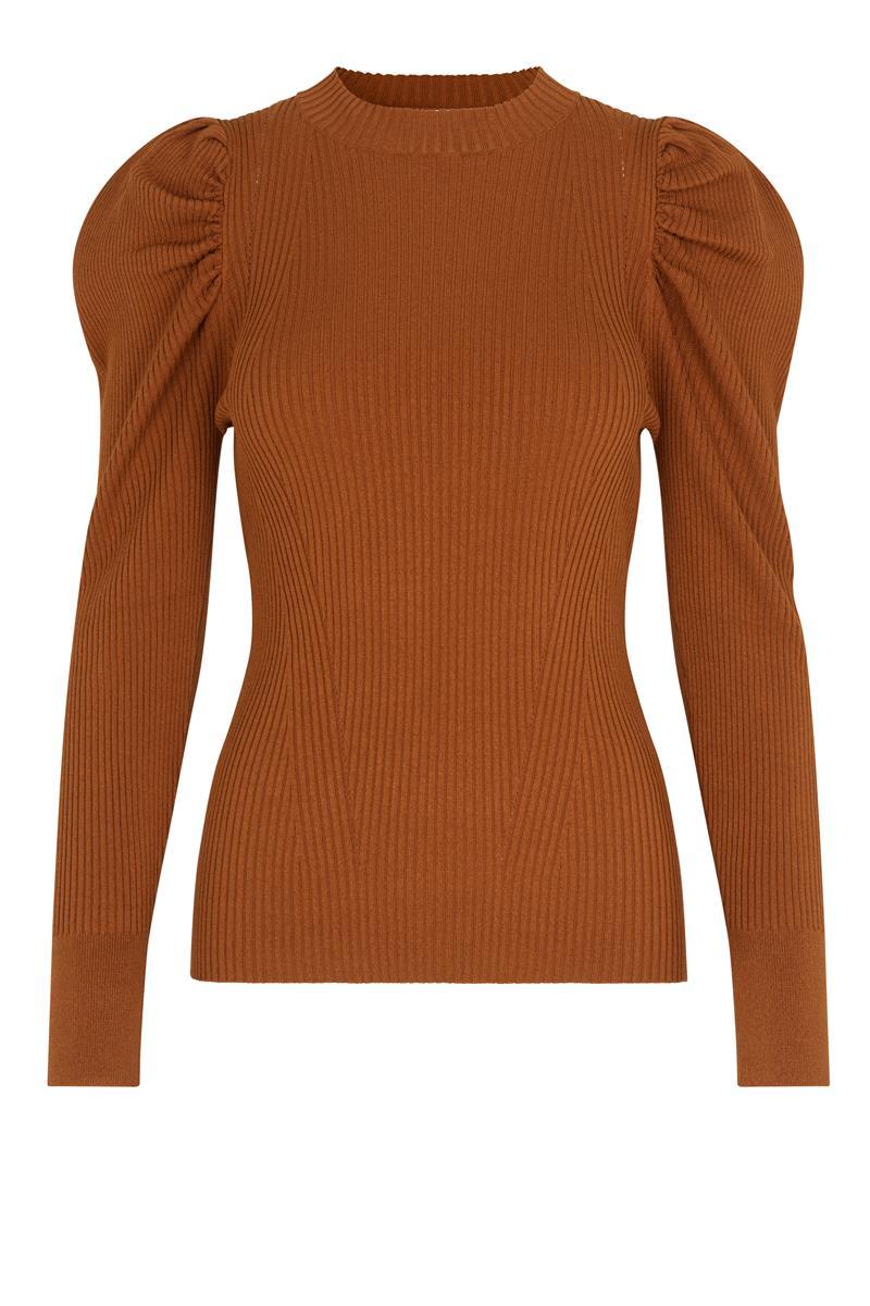Canillu Knit Shirt Argan Oil
