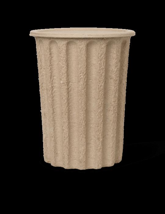 Paper Pulp Papierkorb Brown