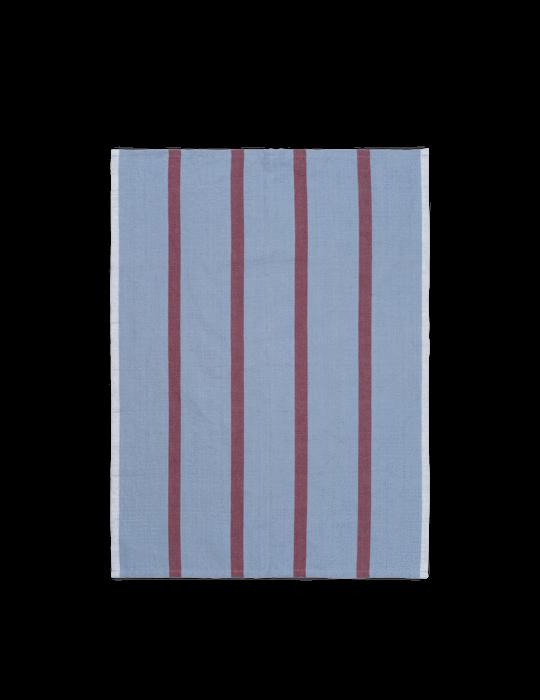 Hale Geschirrtuch Faded Blue/Burgundy