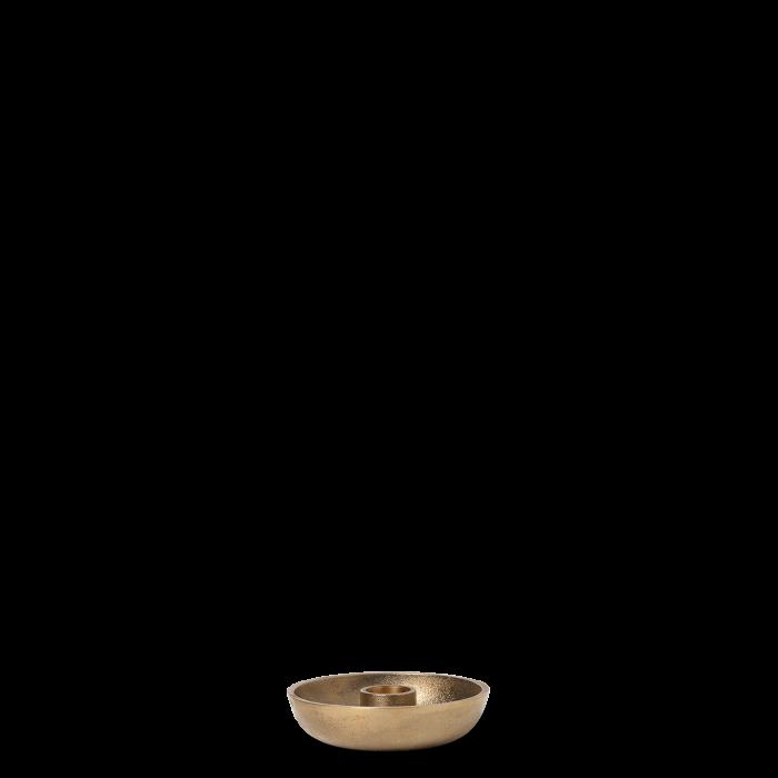 Bowl Kerzenständer Single Brass