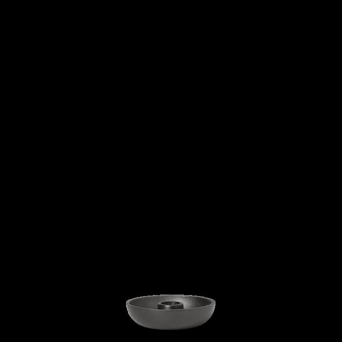 Bowl Kerzenständer Single Blackened