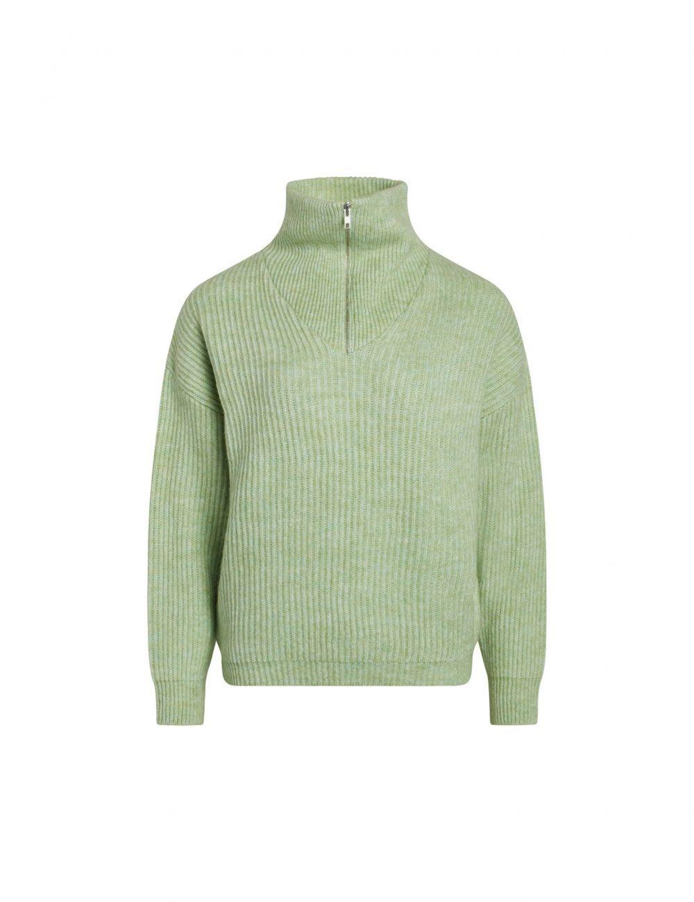 Kinju Pullover Pastel Green