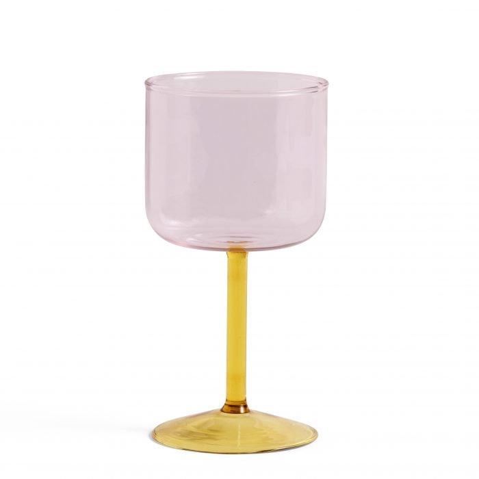 Tint Weingläser Pink Yellow