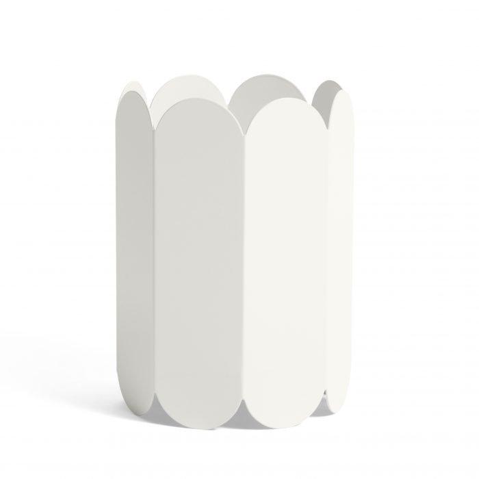 Arcs Vase White
