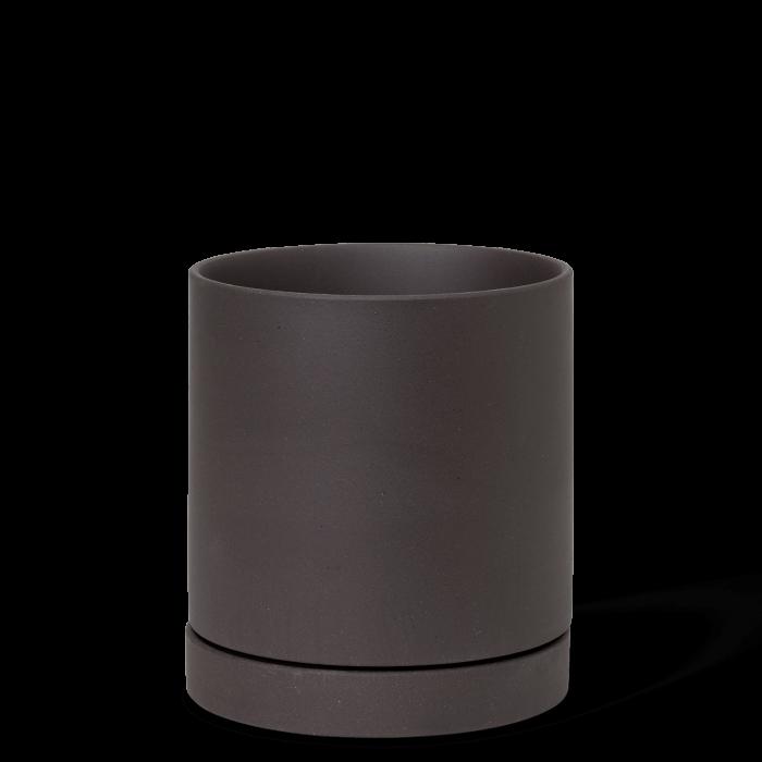 Sekki Blumentopf Medium Charcoal