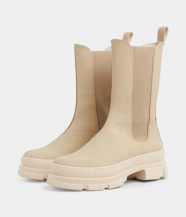 Boots Elise Chelsea Off White